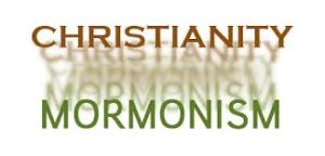 christian and mormon logo